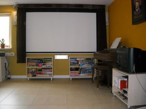 het bioscoopscherm